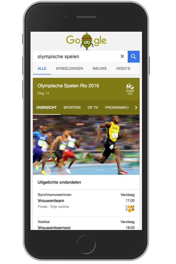google-seo-olympische-spelen